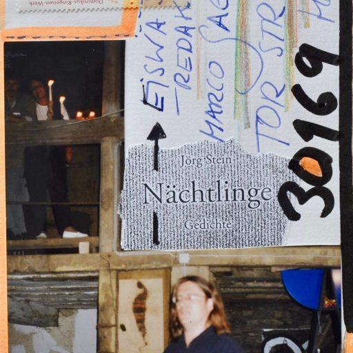 1999 | auf dem Sommerfest des Künstlers und Dichters Jörg Stein präsentiere ich dessen Lyrikband Nächtlinge / Lötzbeuren