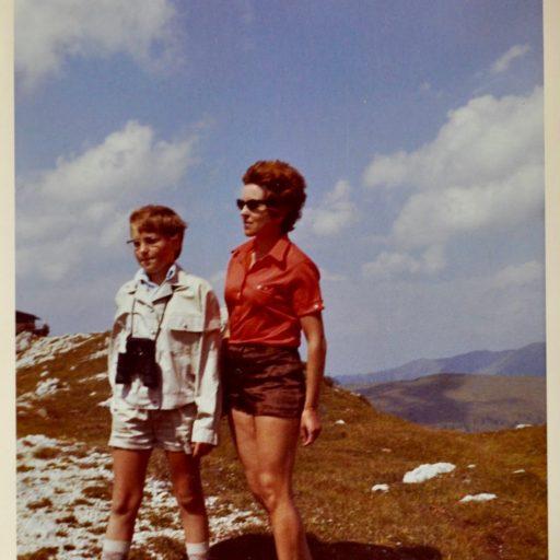 1971 | mit der Mama in den Bergen über Millstatt