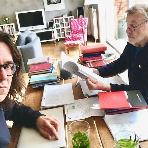 1. Arbeitstreffen mit Ralf-Rainer Rygulla April 2019 in Hannover