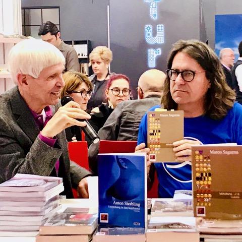 Frankfurter Buchmesse mit Moderator GERT WEIßKIRCHEN⎪17.10.2019⎪Foto: Horst Samson