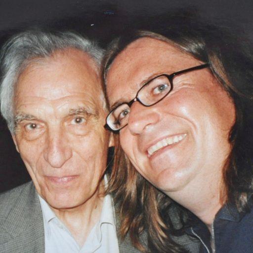 2002 | mit Dieter Wellershoff auf einem Literarischen Abend der Rolf-Dieter-Brinkmann-Gesellschaft | Vechta