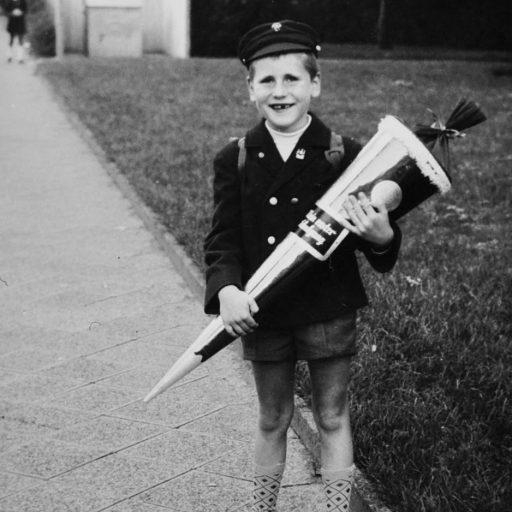 1968 | Der erste Schultag | Frankfurt am Main